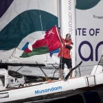 Huge achievement for Sidney Gavignet and Oman Sail as he completes Route du Rhum in 8 days, 19 hours, 15 minutes and 24 seconds on Musandam