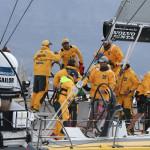 Abu Dhabi Racing Team, skippered by Ian Walker, Rule Cape Town's In-Port Racing in the Volvo Ocean Race 2014