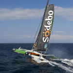 Collision for Sodebo Ultim' and a brutal night for the Route du Rhum skippers and boats