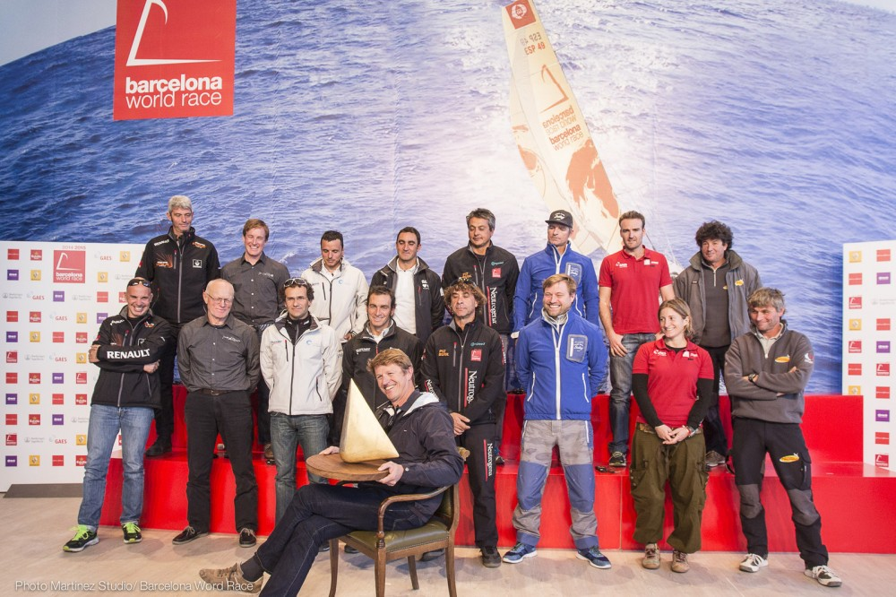 Barcelona Word Race 2014/2015PRESS CONFERENCE SKIPPERS (Photo by Martinez Studio )