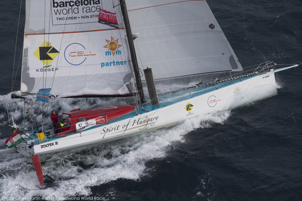 23/12/2014, Barcelona (ESP), Barcelona World Race 2014-15, Barcelona Trainings (© Gilles Martin-Raget / Barcelona World Race )