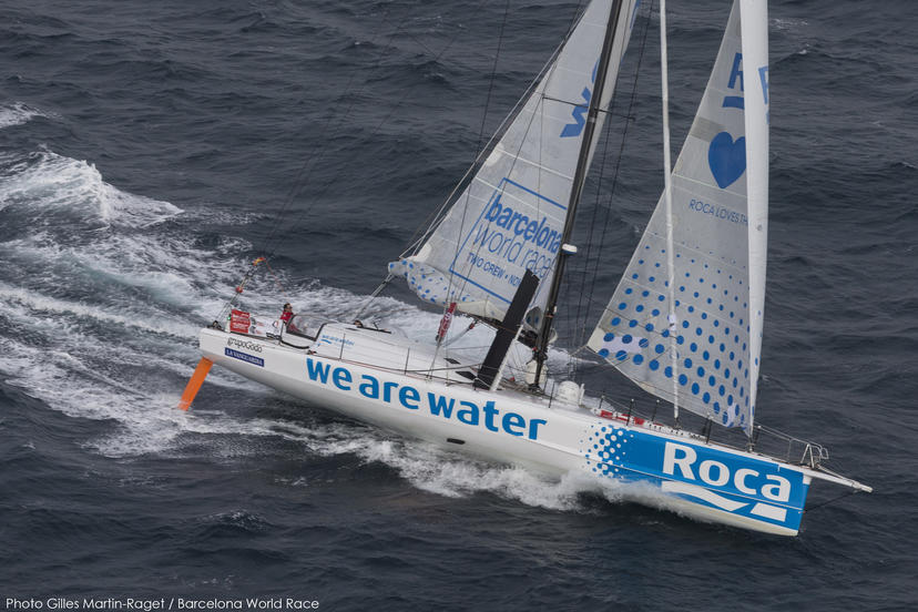 23/12/2014, Barcelona (ESP), Barcelona World Race 2014-15, Barcelona Trainings, We Are Water (Bruno Garcia, Willy Garcia)(Photo by Gilles Martin-Raget/Barcelona World Race)