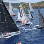 A spectacular 66 strong start to the 2015 RORC Caribbean 600 in Antigua