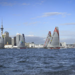 They are off into the Southern Ocean as Leg 5 of the Volvo Ocean Race starts from Auckland