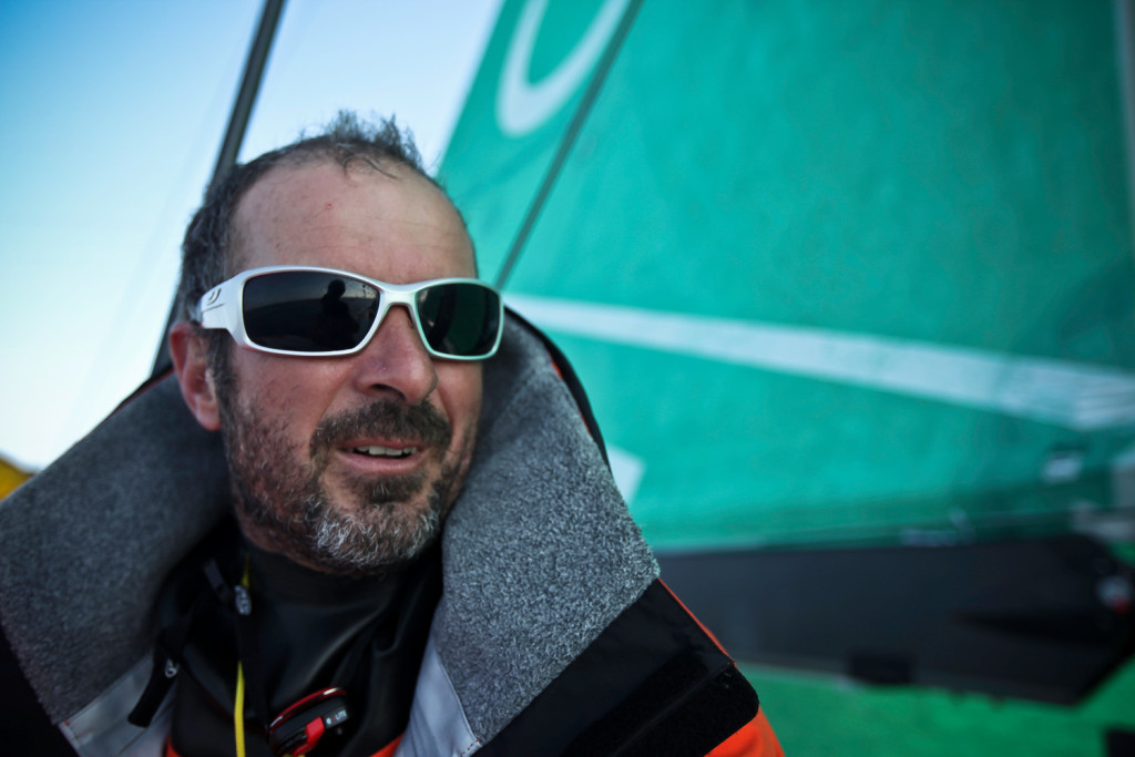 The Volvo Ocean Race launches a new young sailor award in a major sailing competition in the Gulf. It's aimed at attracting a fresh generation of offshore sailors, following champions like Damien Foxall (Photo © Yann Riou/Groupama Sailing Team/Volvo Ocean Race)