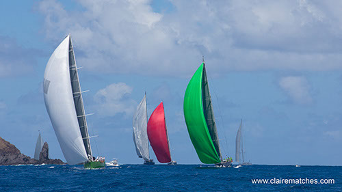 St. Barth's Bucket  Fleet Day One ( Photo © Claire Matches  www.clairematches.com )