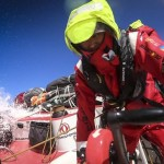 "Direct from Charles Caudrelier, skipper on Team Dongfeng; ""It's One Hell of a Baptism"""