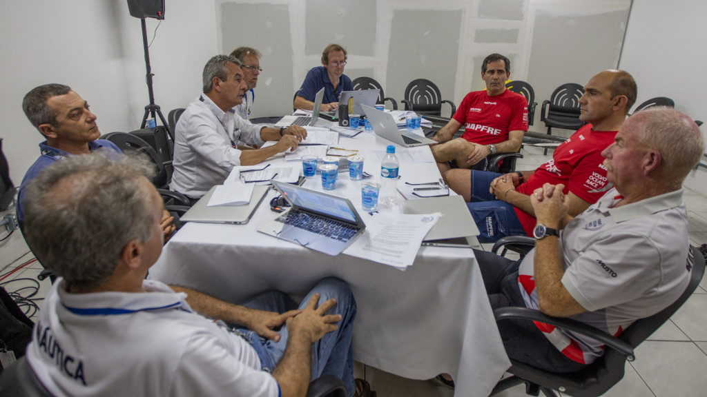 ISAF Jury (Photo by Ainhoa Sanchez  Volvo Ocean Race )