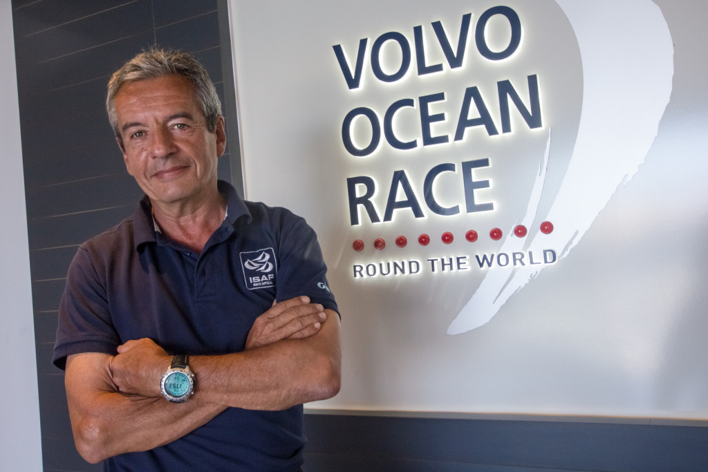 Bernard Bonneau (FRA) jury Chairman (Photo by Carmen Hidalgo / Volvo Ocean Race)
