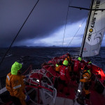 Dongfeng Race Team make for Argentina after mast breaks as they neared Cape Horn