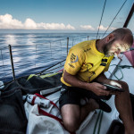 Volvo Ocean Race fleet crosses the equator for the fourth and final time