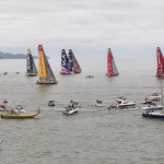 The Volvo Ocean Race Fleet are on their way to Newport