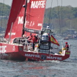 MAPFRE Wins the Team Vestas Wind In-Port race at the Volvo Ocean Race Newport