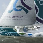 Sidney Gavignet and The Sultanate of Oman's MOD70 Musandam-Oman Sail sets off on Round Ireland record attempt