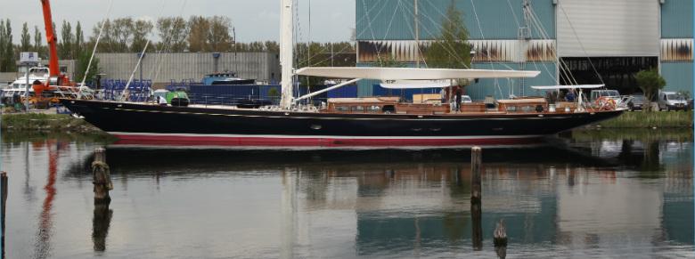 Atalante (Photo Courtesy of Claasen Shipyards)