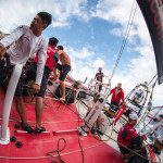 Volvo Ocean Race Fleet Feeling the Pace