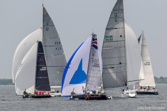 161st New York Yacht Club Annual Regatta Around the Island Race (Photo by George Bekris)