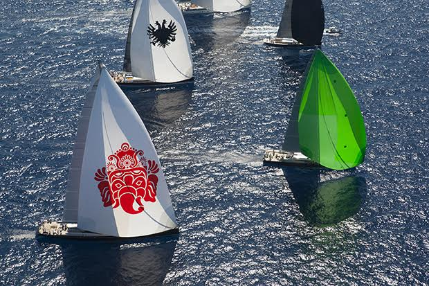 Superyacht Cup Palma 2015 Fleet (Photo  ©www.clairematches.com)