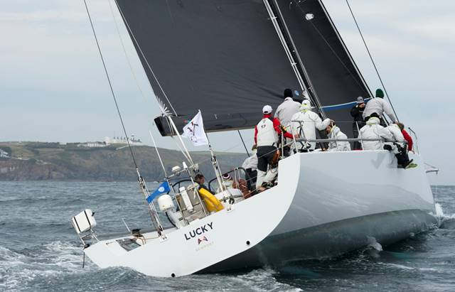 Lucky is first-to-finish in the Transatlantic Race 2015 (Photo  by Lloyd Images)