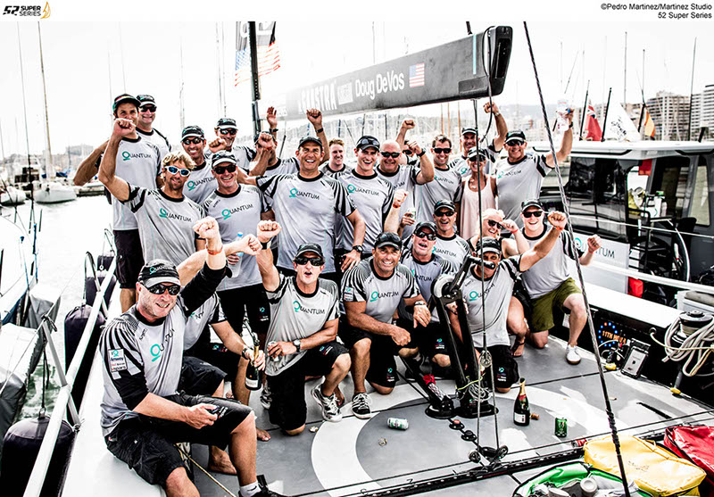 Winners Quantum Racing  (Photo © Pedro Martinez / Martinez Studio/ 52 Super Series)