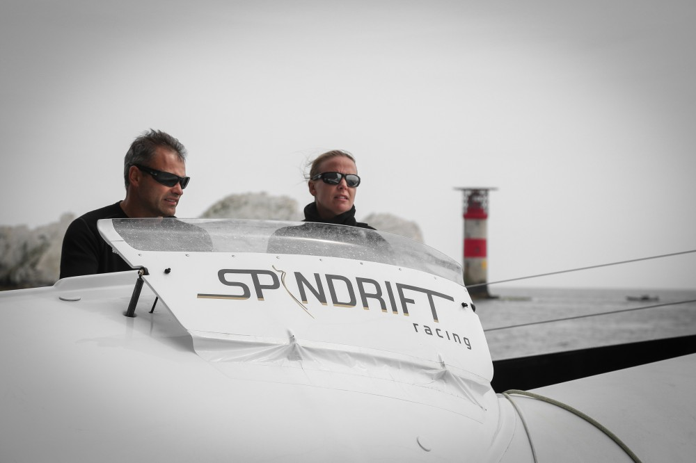 Spindrift 2, Onboard, Fastnet Race (Photo by Yann Riou)