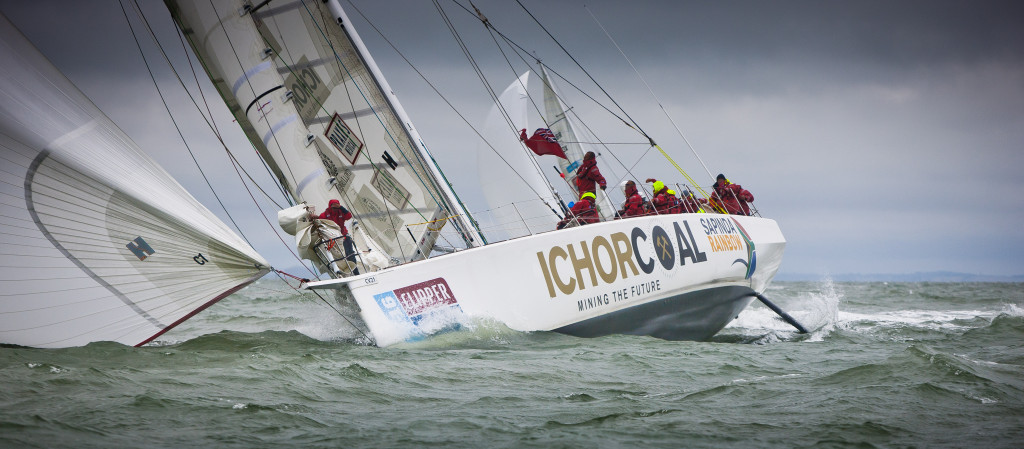 Race one of the Clipper 15-16 Race gets underway from Southend, UK to Rio de Janeiro, Brazil. ( Photo Copyright onEdition 2015©)