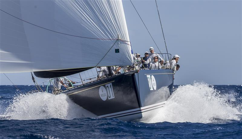 Hap Fauth's Bella Mente (Photo by Rolex / Carlo Borlenghi)