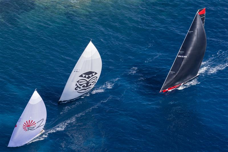 Wallys and Comanche (Photo by Rolex / Carlo Borlenghi)