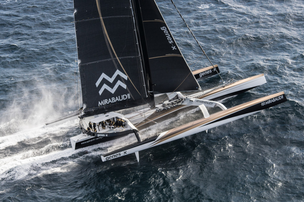 Maxi trimaran Spindrift 2 (Photo © Eloi Stichelbaut I Spindrift racing)