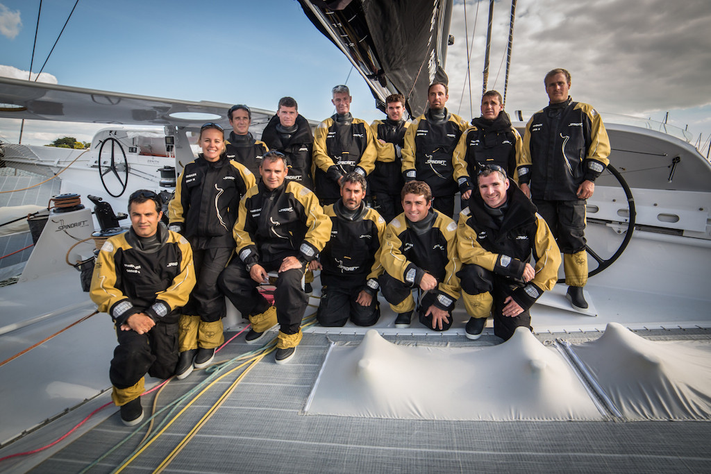 Spindrift 2 Crew for Jules Verne Trophy attempt
