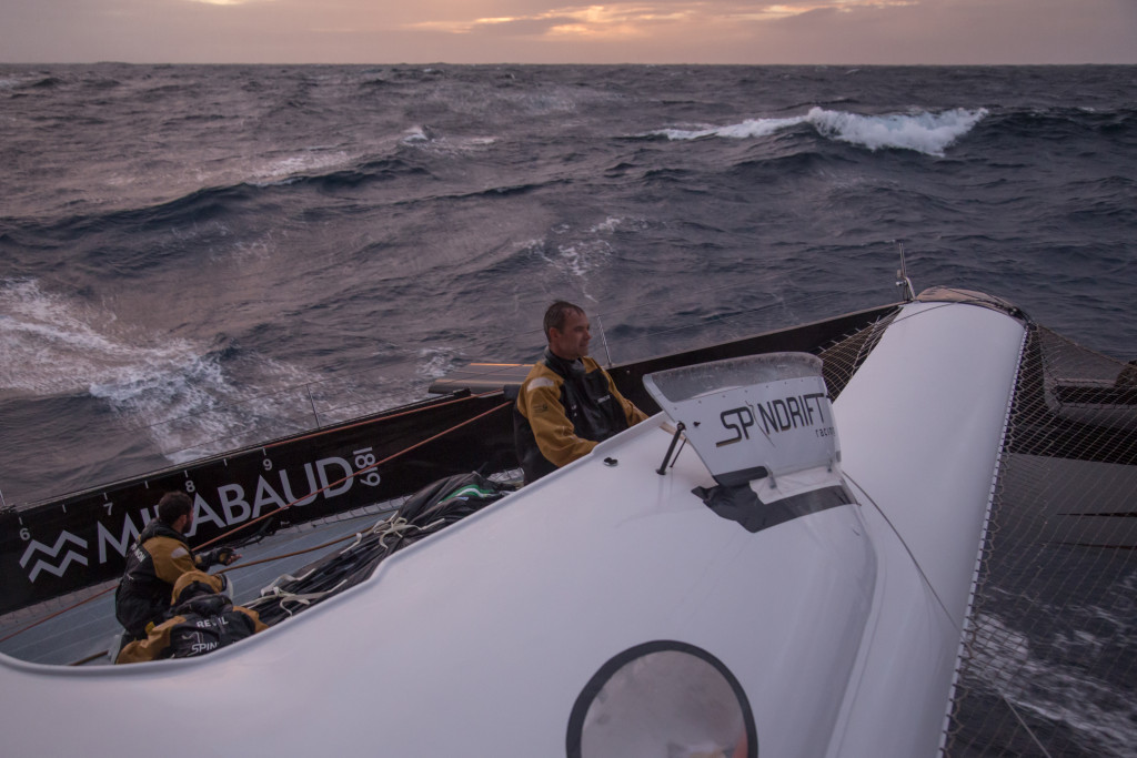 Spindrift 2, Trophée Jules Verne, 2015 (Photo © Yann Riou/ Spindrift Racing)