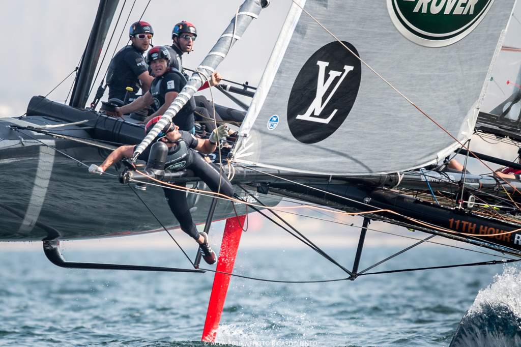 28/02/16 - Muscat (OMN) - 35th America's Cup Bermuda 2017 - Louis Vuitton America's Cup World Series Oman - Racing Day 2 - Racing Day 2 (Photo © Ricardo Pinto / ACWS)