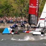 Emirates Team New Zealand steal the win but New York puts on the show