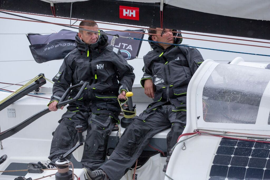 Leg 1, Talanta - Mikael Ryking and Nathan Fulcher (Photo by Billy Black / Atlantic Cup)