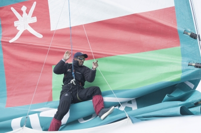Oman Sail Crew on Musandam (Photo © Mark Lloyd/ Lloyd Images)