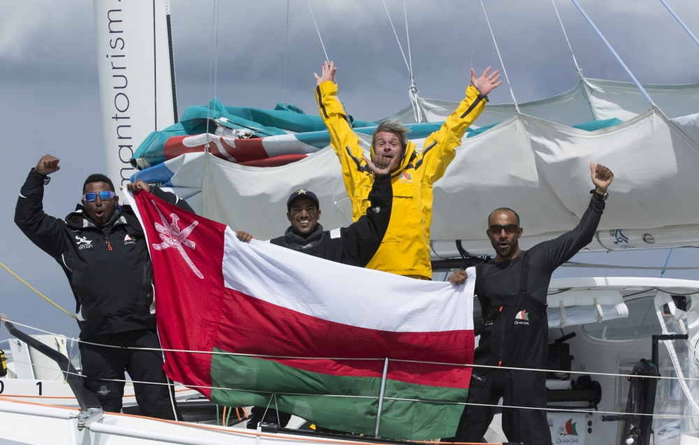 Oman Sail Crew Mark Lloyd