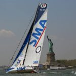 Paul Meilhat's SMA wins Ocean Masters IMOCA 60's Currency House Charity Race in New York