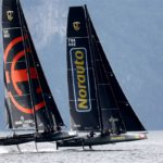 Hat-trick for Adam Minoprio on Lake Traunsee in the GC32 Alps Challenge in Austria