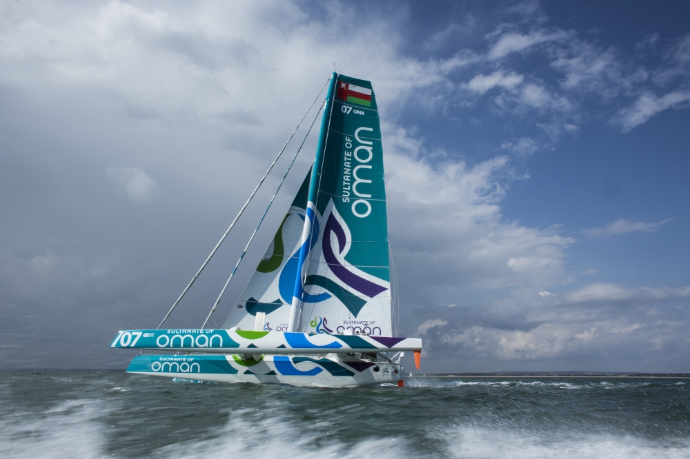 Trimaran MOD70 Musandam-Oman Sail (Photo © Mark Lloyd / Lloyd Images)