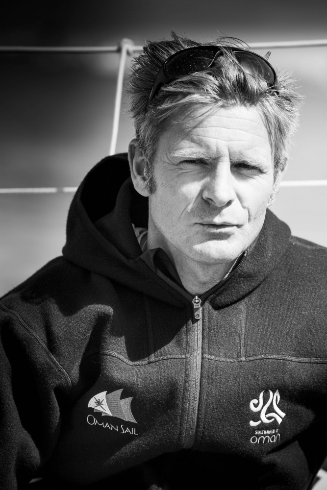 Sidney Gavignet, Skipper of Musandam-Oman Sail (Photo © Mark Lloyd / Lloyd Images)