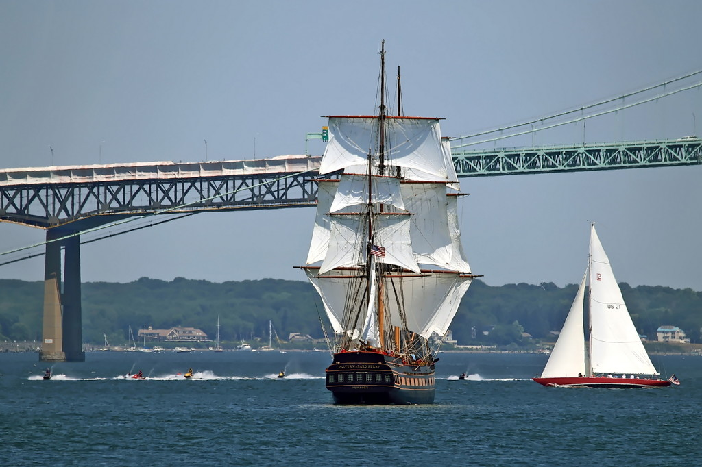 SSV Oliver Hazard Perry: Tall Ship Passes Final Tests (photo © George Bekris)