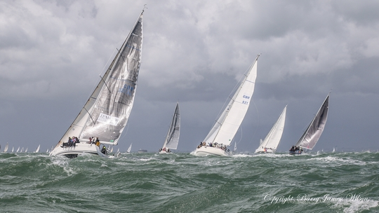 Round the Island race 2016 (Photo by Barry James WIlson)