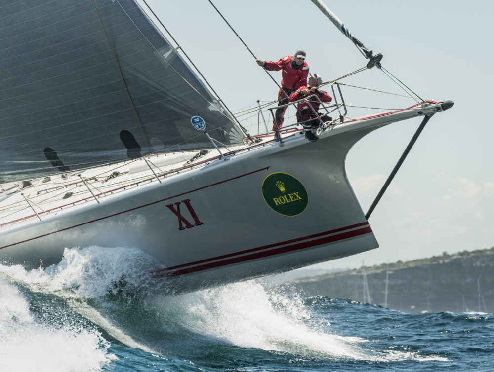 WILD OATS XI, AUS10001, XI, Owner: The Oatley Family, State / Nation: NSW, Design: Reichel Pugh 100 (Photo by Rolex/Kurt Arrigo)