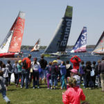 Volvo Ocean Race Pep Rally and Press Conference in Newport Tuesday March, 21st