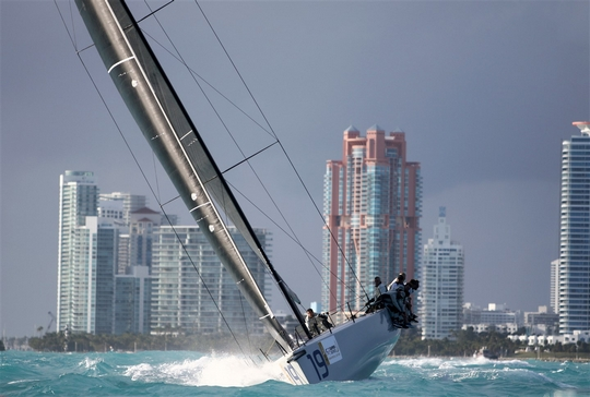 TP52 Super Series Miami (Photo © Max Ranchi) www.maxranchi.com