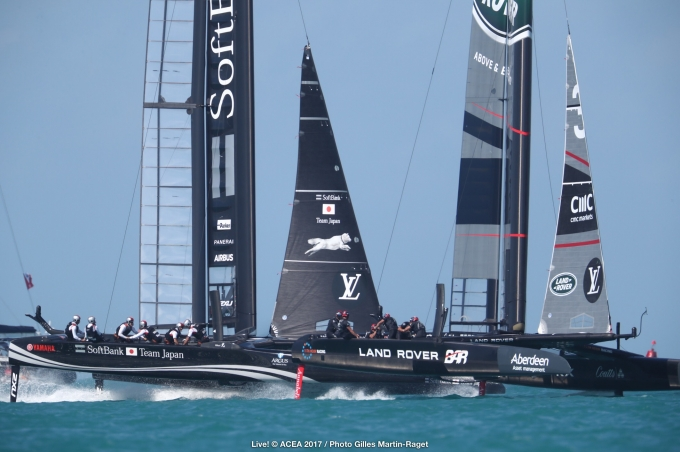 27/05/2017 - Bermuda (BDA) - 35th America's Cup 2017 - Louis Vuitton America's Cup Qualifiers, Day 1,Photo © Gilles Martin-Raget