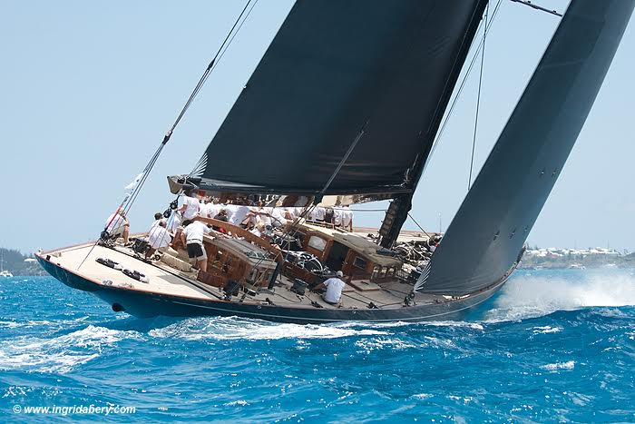 Lionheart wins the J-Class regatta Bermuda © Ingrid Abery Photography. www.ingridabery.com