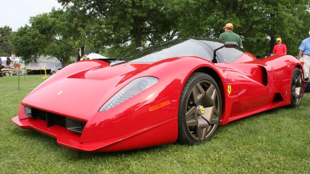 Ferrari (Photo © James Glickenhaus)