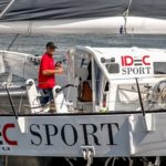 Francis Joyon on Maxi Trimaran IDEC SPORT breaks his own Solo North Atlantic record