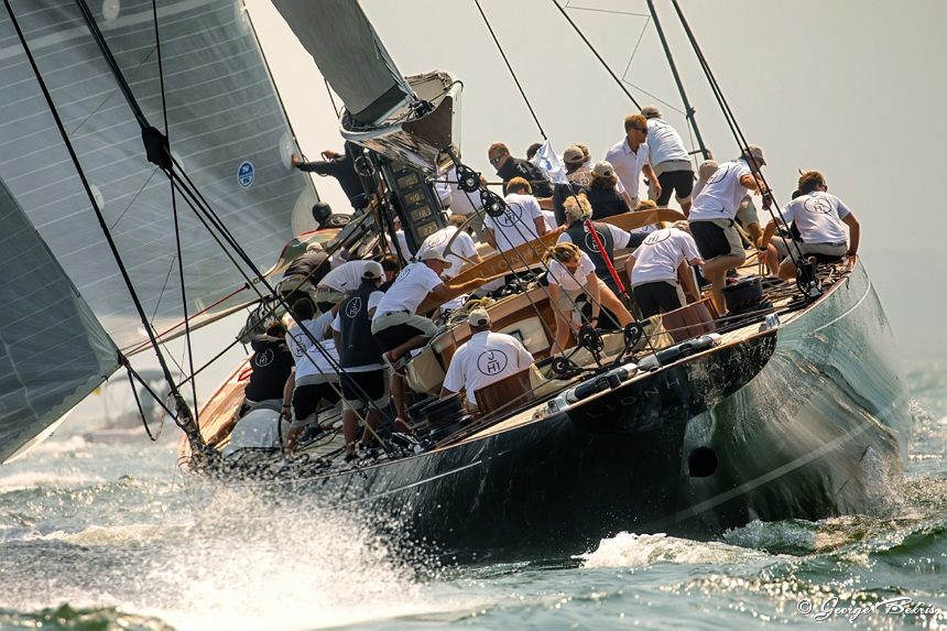 Lionheart, Winner of the 2017 J Class Championship (Photo © George Bekris)